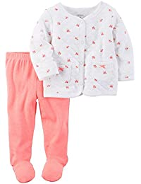 Carter's Baby Girls' 2 Piece Floral Layette Set