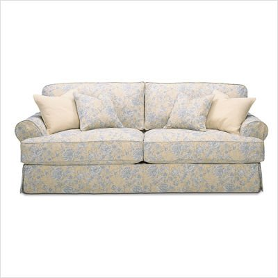 Rowe Furniture 7863 000 Montecristo Slipcovered Loveseat