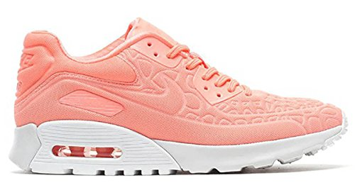 Nike Women's Air Max 90 Ultra Plush AtomicPink 844886-600 (Size: 8)