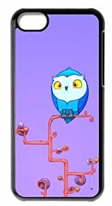 Great iphone 5cC Cases Owl Friend Back Covers Durable Case