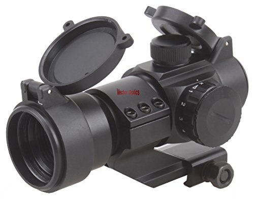TAC Vector Optics Stinger 1×28 Red Dot Scope Weapon Sight with Killflash Filter Cantilever Weaver Mount Red/Green Dot Review