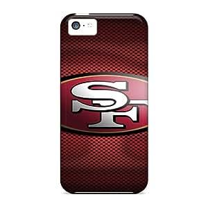 CharlesPoirier Iphone 5c High Quality Hard Phone Cover Allow Personal Design Stylish San Francisco 49ers Pattern [tWe17324ZQPQ]