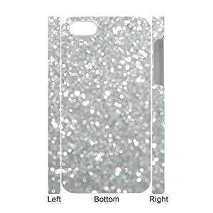taoyix diy Silver Bling Personalized 3D Cover Case for Iphone 5C,customized phone case ygtg593455