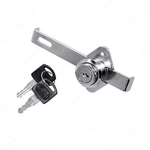 Mini Gang Lock, Key Type Keyed Different, Finish Chrome