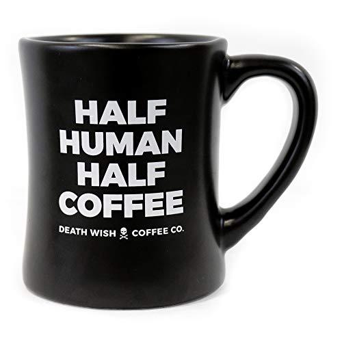 Death Wish Coffee Ceramic Diner Mug - 14 ounce