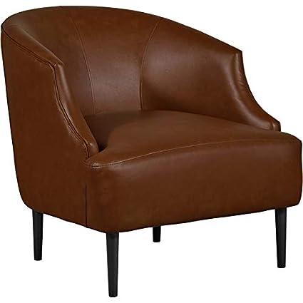 Terrific Amazon Com Tommy Hilfiger Jameston Leather Club Chair Brown Short Links Chair Design For Home Short Linksinfo