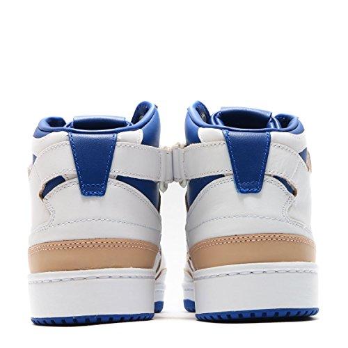 Adidas Mannen Forum Mid Wrap (wit / Collegiale Royal / Schoeisel Wit) Schoenen Wit / Collegiale Royal / Wit