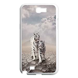 Wholesale tiger and tiger art seriesCase Cover Best For Samsung Galaxy Note 2 Case FKLB-T522531