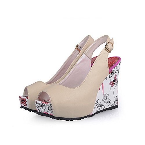 Engagement US M Assorted Material B Color 5 1TO9 Sandals Beige 7 Soft Womens f5q7UR