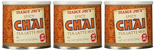 (Set of 3 Trader Joe's Spicy Chai Latte)