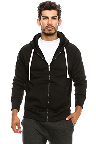 Hipster Unisex Zip Up Hoodie Jacket product image