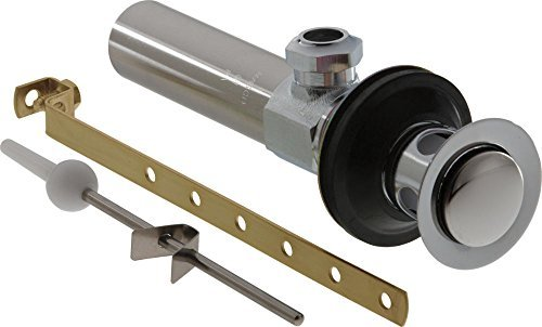 Delta Faucet RP26533 Drain Assembly Lavatory Metal Less Lift Rod and Knob, Chrome by DELTA (Less Drain Lavatory)