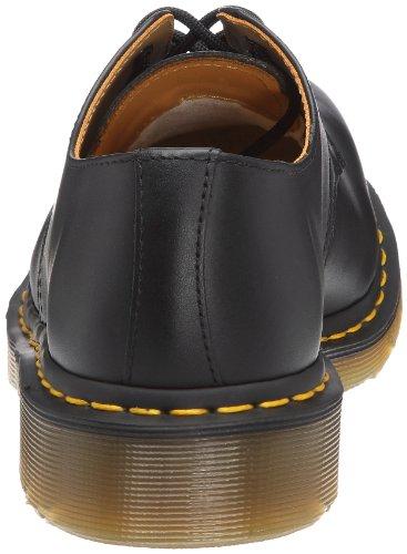 Dr. Martens 1925 5400 10111001 - Mocasines de cuero unisex con puntera de hierro Negro (Schwarz)