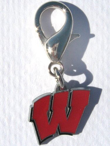 NCAA Licensed University of Wisconsin Badgers Collar Charm