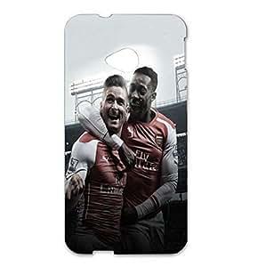 Arsenal FC Oliver Giroud Football Player Exultation Pattern 3D Hard Plastic Case For Htc One M7