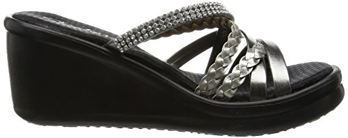 Sandali Pewter Rumblers Wild Platea con Child Donna Skechers qwZ7TtWq