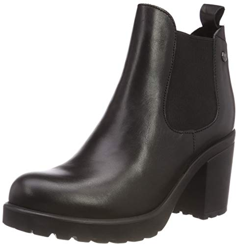 5 Bottes Black Chelsea 25410 s Noir 5 Femme 3 Leather Oliver R8wqwI5