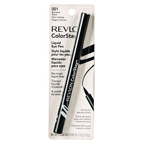 Revlon Colorstay Liquid Eye Pen - Black (001)