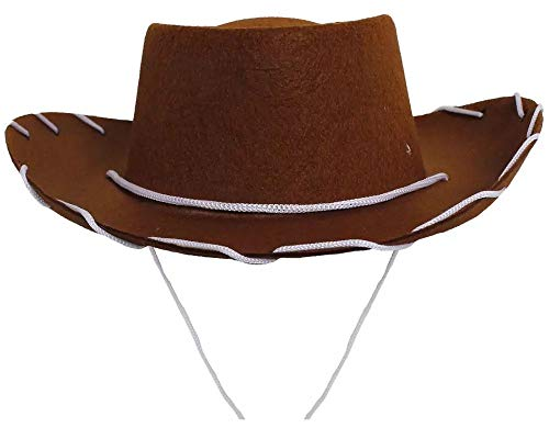 Koolstuffs Children's Cowboy Brown Hat Costume Woody Style]()