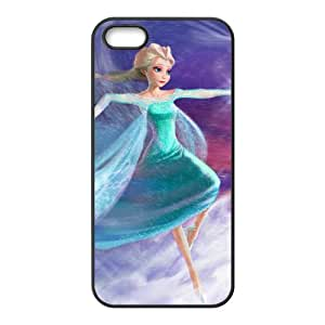 Happy Frozen Snow Queen Princess Elsa Cell Phone Case for Iphone 5s