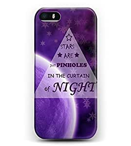 iphone 5c Bible Verses Hard Plastic Snap On Cover -- We Are All Made Of Stars