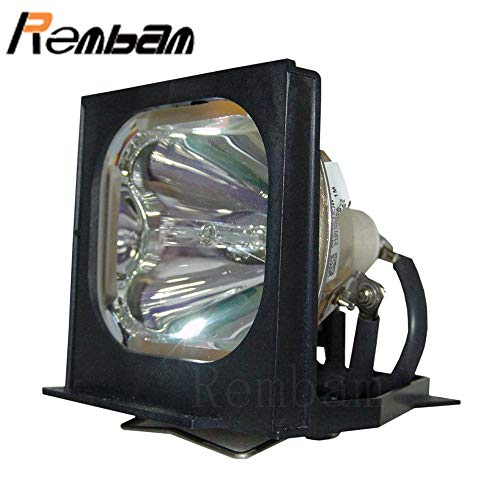 Rembam 610-287-5379/POA-LMP27 Replacement Projector Lamp with Housing for Eiki LC-NB1 LC-NB1W LC-NB1U - Replacement Poa Lmp27