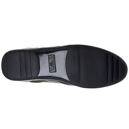 Armani Baskets Formal Mode Emporio Homme Noir 4qaPwRRx