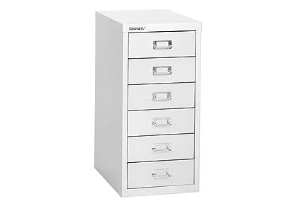 Bisley 6-Drawer Steel Multidrawer Storage Cabinet Dimensions 11u0026quot;W x 15u0026quot;  sc 1 st  Amazon.com & Amazon.com : Bisley 6-Drawer Steel Multidrawer Storage Cabinet ...
