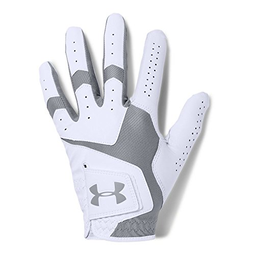 Under Armour Men's CoolSwitch Golf Glove, White/Steel, Left Hand Medium Cadet