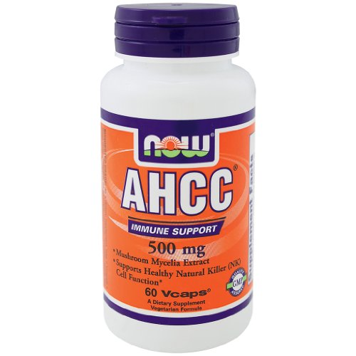 Now Foods AHCC 500 mg - Paquet 60 Vcaps 3
