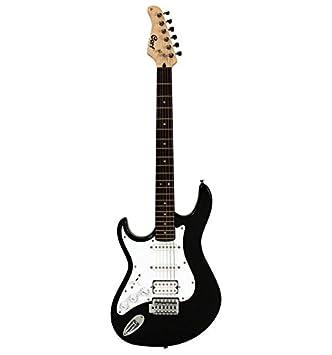 Cort serie G - 110 - negro poros abiertos - Guitarra eléctrica zurdos: Amazon.es: Instrumentos musicales
