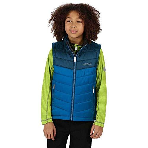 Regatta Freezeway II B/W Junior Vest zonder mouwen, licht, isolerend, met reflecterende motieven, voor kinderen