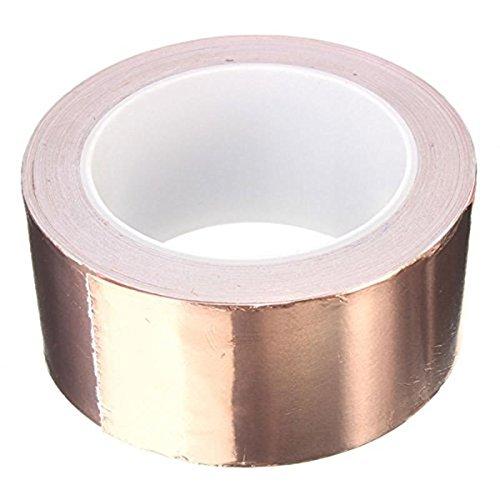 50-x-20-mm-adhesive-single-face-electric-conduction-copper-foil-tape-shielding-guitar-slug-and-snail