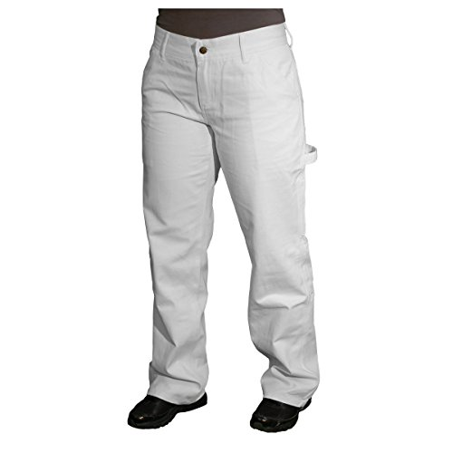 Safety Girl CSGPTWP1000029499-WHT-24R Painters Pants, English, Cotton, 24R, White