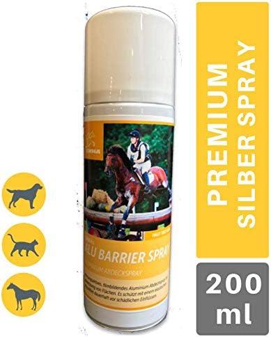 EMMA ♥ Spray de Aluminio para Caballos y Perros I Vendaje para heridas en Spray Protección inmediata I Cuidado óptimo de heridas I Transpirable 200 ml
