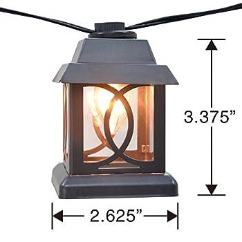 10ct Oversized Lantern String Light