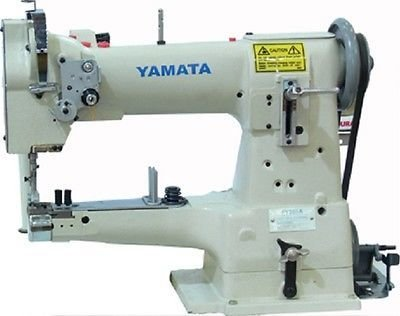 Yamata FY335A 10″ Arm Cylinder Bed Walking Foot Sewing Machine with Servo Motor and Table.Assembly Required.DIY