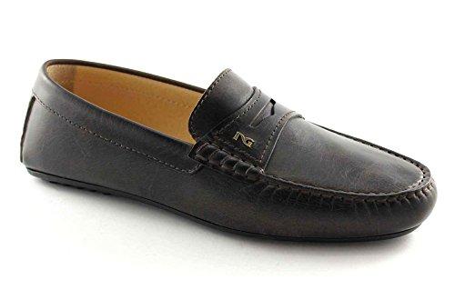 BLACK Mokassin Schuhe GARDENS 4240 Marrone Rohr Mann t moro elegant rwrqvHB