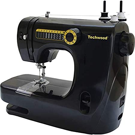 Opinión sobre Techwood - Máquina de coser (10 puntos)