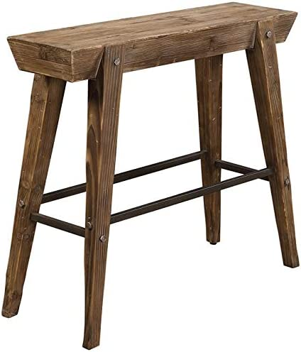 Uttermost Console Table in Aged Bronze