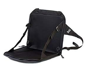 Lugabug Travel Seat, Child Carrier for Luggage (Black/Grey)