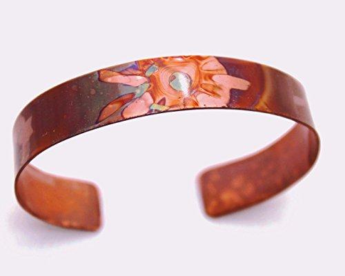 Burnt Copper Cuff - 1/2