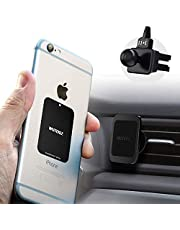 WUTEKU Magnetic Cell Phone Vent Holder Kit for Car - Works on All Vehicles, Phones and Tablets - Best Vent Mount - Compatible with iPhone XR, XS, 8, 7 and Galaxy S9, S8 by Pro Driver