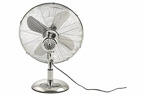 Kooper 2409388/Ventilator Tisch 50/W chrom