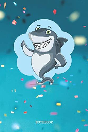 Notebook: Funny Cartoon Shark Planner / Organizer