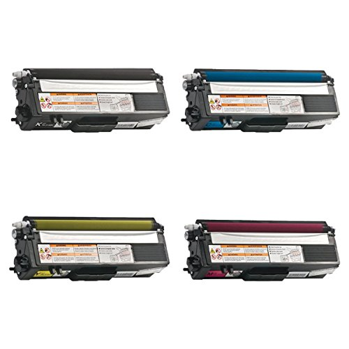 SuperInk High Yield Replacement for Brother TN315 TN-315 Toner Cartridge Set Compatible with Brother HL-4150CDN HL-4570CDW MFC-9970CDW MFC-9460CDN Printer(1 Black, 1 Cyan, 1 Yellow, 1 Magenta-4 Pack)