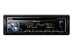CD receiver with MIXTRAX, USB playback, Android music support, Pandora connect, control, and listen to music from your iPod/iPhone or Android device via USB Pandora for iPhone & Pandora station creation color customization with 10-level b...