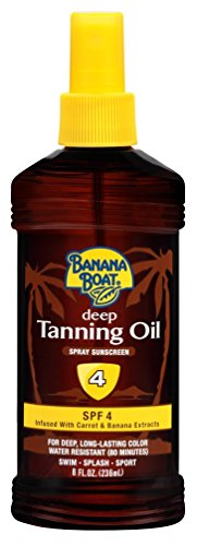 Banana Boat Tanning Spray Sunscreen