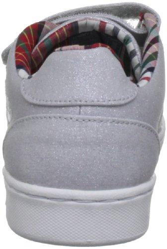 Tommy Hilfiger COOPER 5B - Zapatillas de lona niña Plata - Silber (SILVER 045)