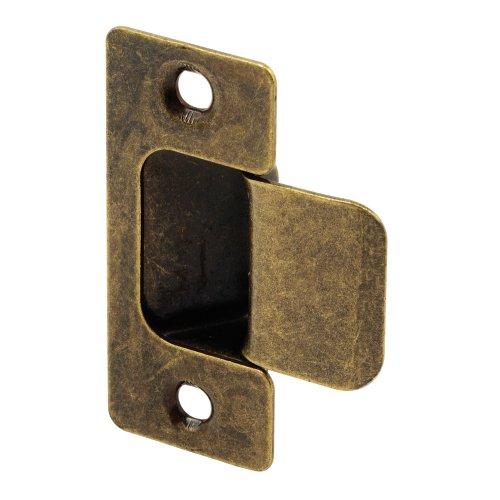 (Defender Security U 10277 Adjustable Door Strike, Antique Brass Plated, 2-Piece)